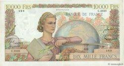 10000 Francs GÉNIE FRANÇAIS FRANCE  1951 F.50.55 pr.TTB