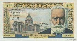 5 Nouveaux Francs VICTOR HUGO FRANCE  1961 F.56.06 SUP+