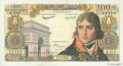 100 Nouveaux Francs BONAPARTE FRANCE  1963 F.59.19 TTB+