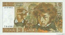 10 Francs BERLIOZ FRANCE  1975 F.63.15 TTB+