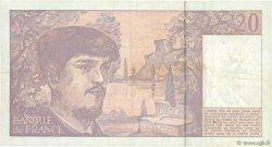 20 Francs DEBUSSY à fil de sécurité FRANCE  1990 F.66bis.01a TTB