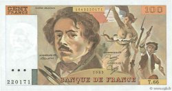 100 Francs DELACROIX modifié FRANCE  1983 F.69.07 pr.NEUF