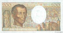 200 Francs MONTESQUIEU FRANCE  1988 F.70.08 SUP+