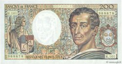 200 Francs MONTESQUIEU alphabet 101 FRANCE  1992 F.70bis.01 SUP+