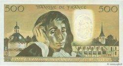 500 Francs PASCAL FRANCE  1968 F.71.01 SUP à SPL