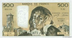500 Francs PASCAL FRANCE  1973 F.71.09 SPL