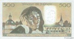 500 Francs PASCAL FRANCE  1984 F.71.31 SPL+