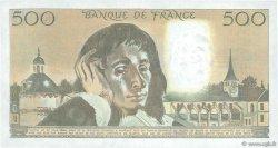 500 Francs PASCAL FRANCE  1985 F.71.32 pr.NEUF