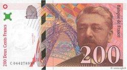 200 Francs EIFFEL FRANCE  1997 F.75.04a SPL