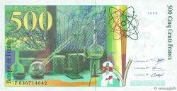 500 Francs PIERRE ET MARIE CURIE FRANCE  1996 F.76.03 pr.NEUF