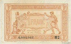1 Franc TRÉSORERIE AUX ARMÉES FRANCE  1919 VF.04.20 NEUF
