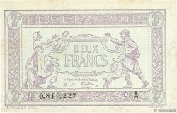 2 Francs TRÉSORERIE AUX ARMÉES FRANCE  1917 VF.05.01 SPL