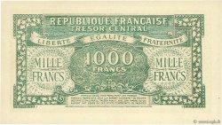 1000 Francs MARIANNE Chiffres gras FRANCE  1945 VF.12.00 SPL
