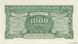 1000 Francs MARIANNE Chiffres gras FRANCE  1945 VF.12.02 SUP+