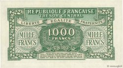 1000 Francs MARIANNE Chiffres maigres FRANCE  1945 VF.13.02 SUP+