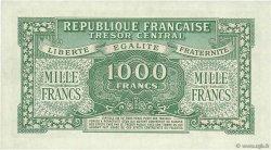 1000 Francs MARIANNE Chiffres maigres FRANCE  1945 VF.13.03 SPL