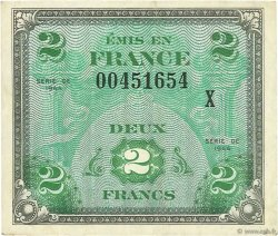 2 Francs DRAPEAU FRANCE  1944 VF.16.03 pr.SUP