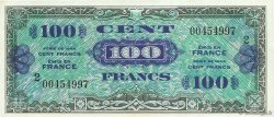 100 Francs DRAPEAU FRANCE  1944 VF.20.02 XF