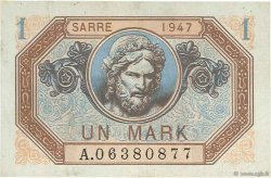 1 Mark SARRE FRANCE  1947 VF.44.01 pr.SUP