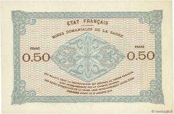 50 Centimes MINES DOMANIALES DE LA SARRE FRANCE  1920 VF.50.01 SUP+