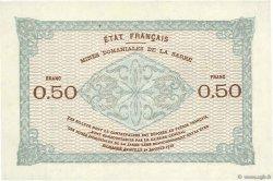 50 Centimes MINES DOMANIALES DE LA SARRE FRANCE  1920 VF.50.02 pr.SPL