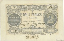 2 Francs FRANCE  1871 BPM.013a SUP