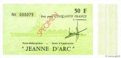 50 Francs vert FRANCE régionalisme et divers   Kol.225f NEUF