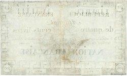 400 Livres FRANCE  1792 Ass.38a TTB+