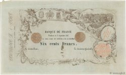 600 Francs Poitiers FRANCE  1857 F.A99.00 SUP+