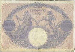 50 Francs BLEU ET ROSE FRANCE  1903 F.14.15 TB à TTB
