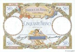 50 Francs LUC OLIVIER MERSON type modifié FRANCE  1933 F.16.04 TTB+