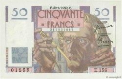 50 Francs LE VERRIER FRANCE  1950 F.20.15 pr.NEUF