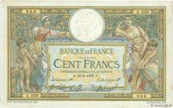 100 Francs LUC OLIVIER MERSON avec LOM FRANCE  1908 F.22.01 pr.TTB