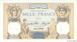 1000 Francs CÉRÈS ET MERCURE FRANCE  1937 F.37.10 SPL