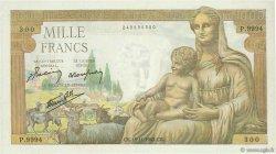 1000 Francs DÉESSE DÉMÉTER FRANCE  1943 F.40.40 SPL