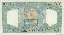 1000 Francs MINERVE ET HERCULE FRANCE  1948 F.41.23 SUP+