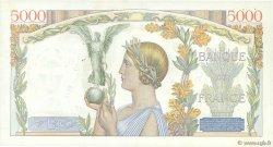 5000 Francs VICTOIRE Taille Douce FRANCE  1934 F.44.01 TTB