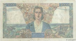 5000 Francs EMPIRE FRANCAIS FRANCE  1944 F.47.07 TB