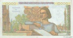 10000 Francs GÉNIE FRANÇAIS FRANCE  1953 F.50.68 TTB+