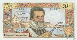 50 Nouveaux Francs HENRI IV FRANCE  1960 F.58.05 SPL
