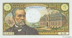 5 Francs PASTEUR FRANCE  1966 F.61.01 SUP à SPL