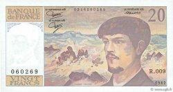 20 Francs DEBUSSY FRANCE  1982 F.66.03 pr.NEUF