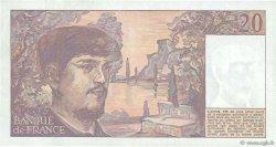 20 Francs DEBUSSY FRANCE  1983 F.66.04 SUP