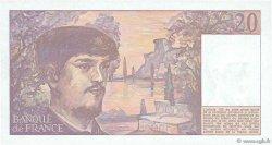 20 Francs DEBUSSY FRANCE  1987 F.66.08 SPL