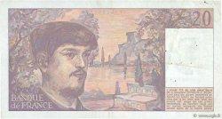 20 Francs DEBUSSY FRANCE  1989 F.66.10b TTB