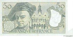 50 Francs QUENTIN DE LA TOUR FRANCE  1986 F.67.12 pr.SUP