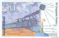50 Francs SAINT-EXUPÉRY FRANCE  1992 F.72.01a