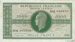1000 Francs MARIANNE FRANCE  1945 VF.12.01 SUP