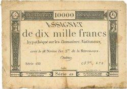 10000 Francs FRANCE  1830 Ass.- TTB