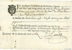 30 Livres FRANCE  1725  SUP